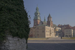 Cracow Wawel Cathedral and Castle Stock Images