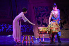 "Cradle-Dance drama ""The Dream of Maritime Silk Road"" Royalty Free Stock Photography"