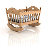 Cradle isolated Royalty Free Stock Photo