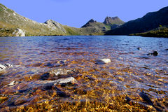 Cradle Lake. In Tasmania, Australia Royalty Free Stock Images