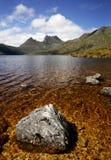 Cradle Lake. In Tasmania, Australia Stock Photography