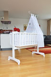 Cradle in the living room. Cradle in the modern living room stock images
