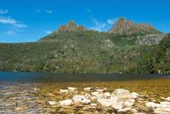 Cradle Mountain. In Tasmania, Australia Royalty Free Stock Photo