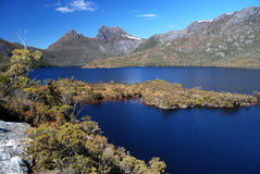 Cradle Mountain. St. Clair National Park in Tasmania Stock Photo