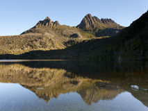 Cradle Mountain. Dove Lake and Cradle Mountain from the Dove Lake Circuit, Tasmania, Australia Royalty Free Stock Image