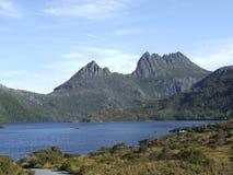 Cradle Mountain. From Dove Lake, Tasmania royalty free stock photo