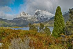 Cradle Mountain. Above Dove Lake, Tasmania Stock Image