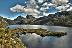 Cradle Mountain And Lake Dove Royalty Free Stock Image
