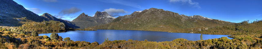 Cradle Mountain & Dove Lake Royalty Free Stock Photography