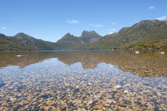 Cradle Mountain and Dove Lake Tasmania Stock Image
