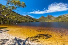 Cradle Mountain Lake Dove royalty free stock photography