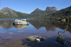 Cradle Mountain-Lake St Clair National Park Tasmania Australia. Landscape view of Cradle Mountain-Lake St Clair National Park Tasmania, Australia royalty free stock image