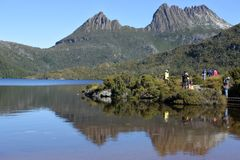 Cradle Mountain-Lake St Clair National Park Tasmania Australia. Tourist visiting at Cradle Mountain-Lake St Clair National Park Tasmania, Australia.In 2018 1.32 stock photo