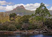 Cradle Mountain and Lake St. Clair in Tasmania (Australia) Stock Image