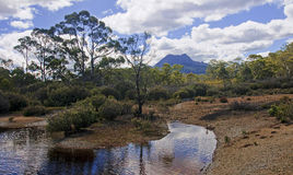 Cradle Mountain and Lake St. Clair in Tasmania (Australia) Stock Photography