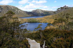 Cradle Mountain Lakes Stock Image