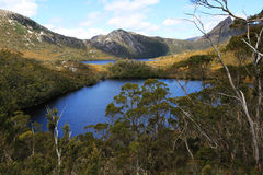 Cradle Mountain Lakes Stock Photo