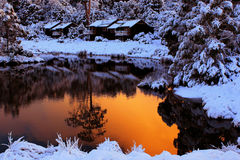 Cradle Mountain Lodge Royalty Free Stock Image