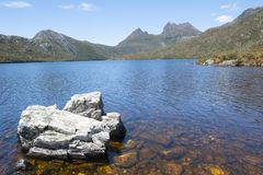 Cradle Mountain National Park at Dove Lake Royalty Free Stock Image