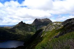 Cradle Mountain National Park. Stock Photo
