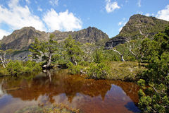 Cradle Mountain National Park, Tasmania, Australia. Artist Pool, Cradle Mountain National Park, Tasmania, Australia Stock Images