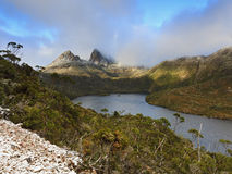 Cradle Mountain Snow SUnrise Stock Image