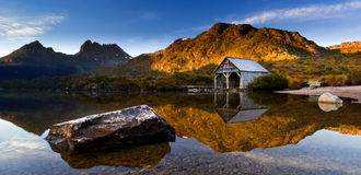 Cradle Mountain Sunrise Stock Image