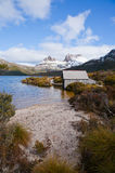Cradle Mountain in Tasmania. Scenic Cradle Mountain in Tasmania, Australia Stock Photos