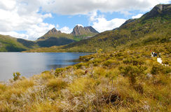 Cradle Mountain in Tasmania Royalty Free Stock Photography