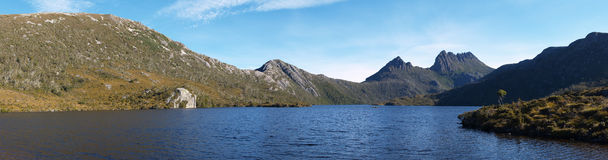 Cradle Mountain, Tasmania, Australia. Panorama of Cradle Mountain, Tasmania, Australia Stock Photography