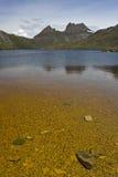 Cradle Mountain Tasmania Australia. A view from Dove Lake Royalty Free Stock Images