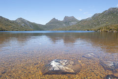 Cradle Mountains National Park landscape Royalty Free Stock Photo