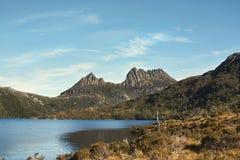 Cradlel Mountain in Tasmania Royalty Free Stock Photos