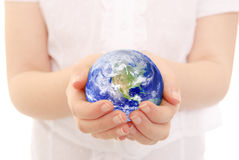 Cradling the Earth royalty free stock images