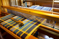 Craft and Art - Weaving Royalty Free Stock Photography