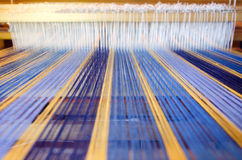 Craft and Art - Weaving Royalty Free Stock Images