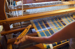 Craft and Art -Weaving Royalty Free Stock Image