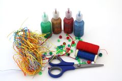 Craft assortment Royalty Free Stock Photo