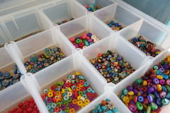 Craft beads. Stock Photos