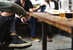 Craft Beer Booze Brew Alcohol Celebrate Refreshment.  Stock Photos