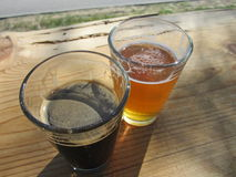 Craft beer royalty free stock photography