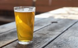 Craft Beer Glass royalty free stock photography