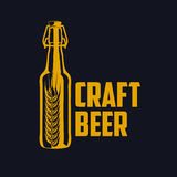 Craft beer logo Stock Images