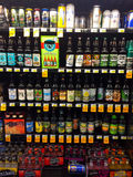 Craft Beer Selection Fred Meyer Springfield, OR Royalty Free Stock Photography