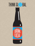 Craft Beer Vector Design Stock Photography