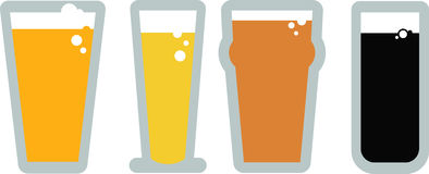 Craft Beers Stock Images