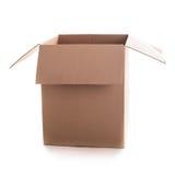 Craft box isolated Stock Image