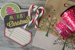 Craft Christmas Preparation Stock Photography
