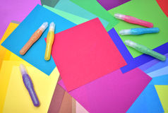 Craft. Decorative crafts and with space for your copy Royalty Free Stock Photography