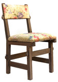 Craft flower chair Royalty Free Stock Image
